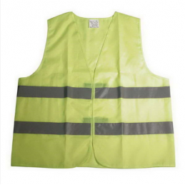 GILET DE SECURITE JAUNE OXFORD