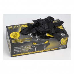 Boîte 100 gants BLACK MAMBA...