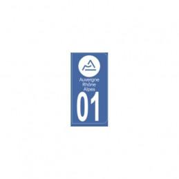 AUTOCOLLANT DEPARTEMENT 01