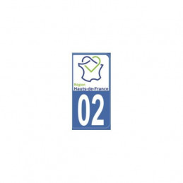 AUTOCOLLANT DEPARTEMENT 02
