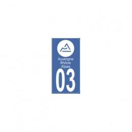 AUTOCOLLANT DEPARTEMENT 03