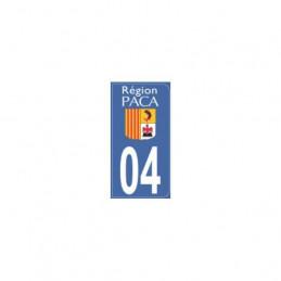 AUTOCOLLANT DEPARTEMENT 04