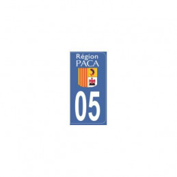 AUTOCOLLANT DEPARTEMENT 05