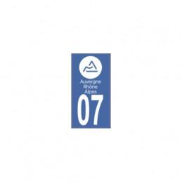AUTOCOLLANT DEPARTEMENT 07