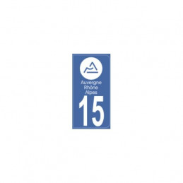 AUTOCOLLANT DEPARTEMENT 15
