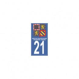 AUTOCOLLANT DEPARTEMENT 21