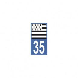 AUTOCOLLANT DEPARTEMENT 33