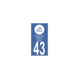 AUTOCOLLANT DEPARTEMENT 41