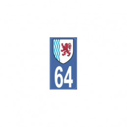 AUTOCOLLANT DEPARTEMENT 62