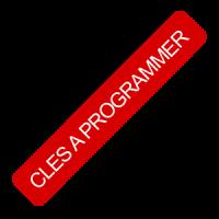 Clés à programmer