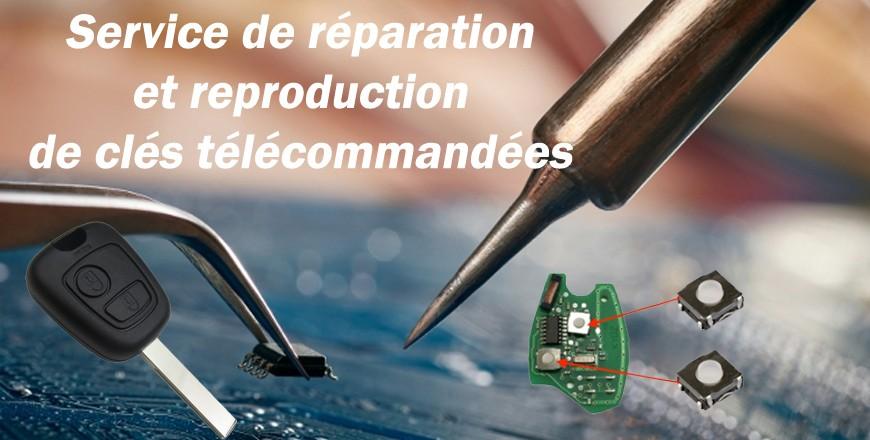 Service réparation et copie de clés de voitures